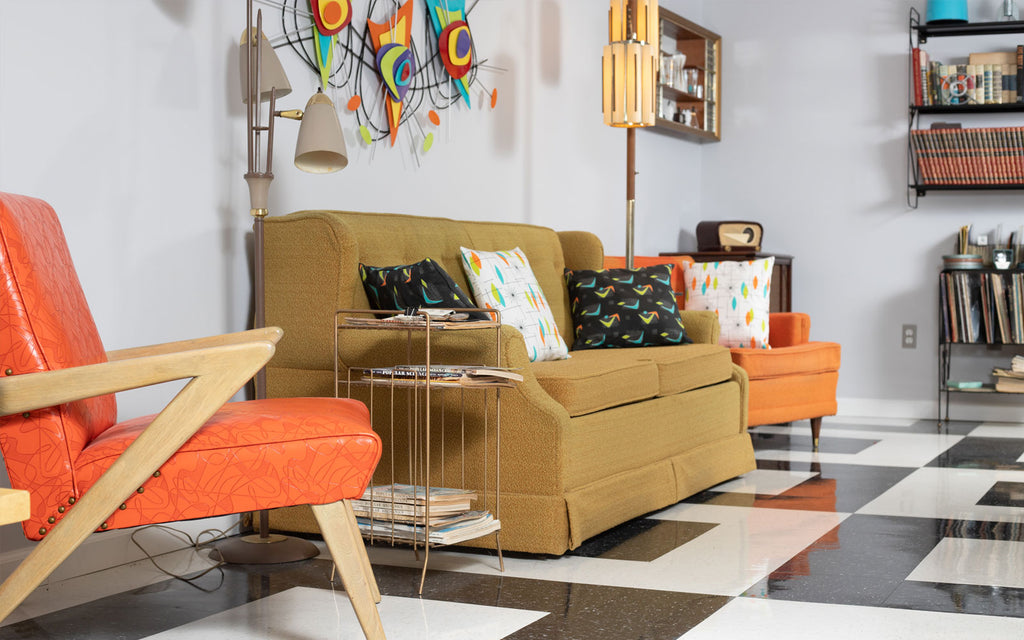 Jason's Restored Mid Century Getaway Lounge. The Inkabilly Blog
