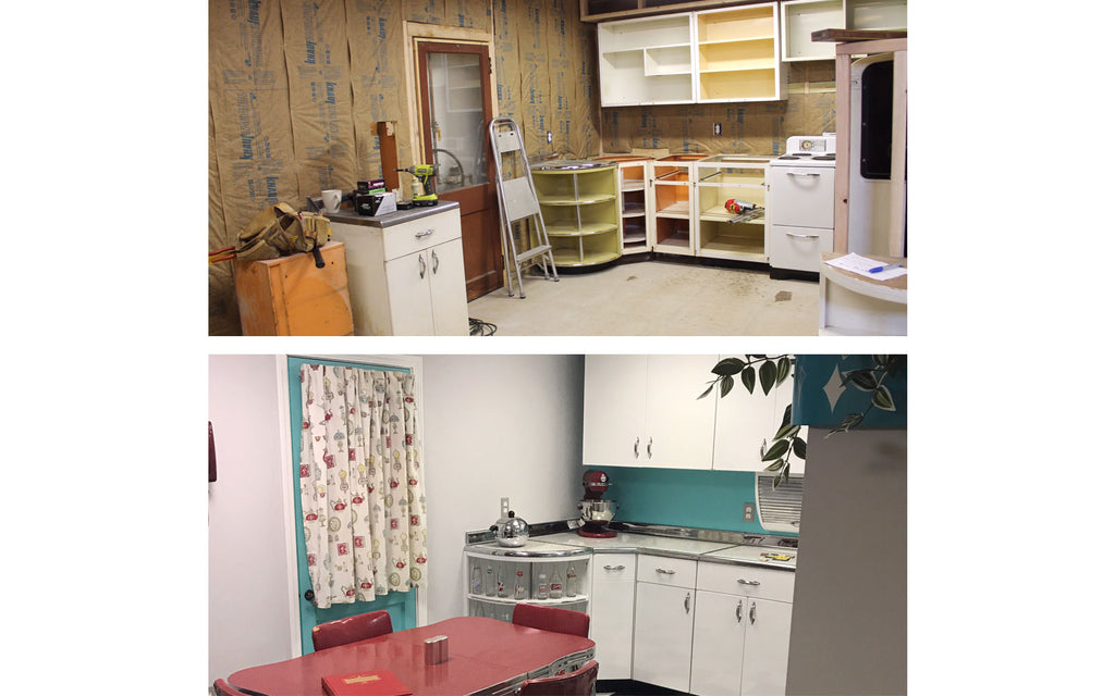 Renovating a mid century kitchen. The Inkabilly Blog