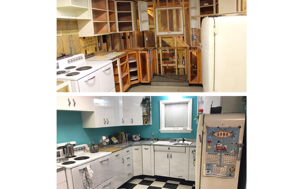 Building and restoring Jason's Atomic Kitchen. The Inkabilly Blog