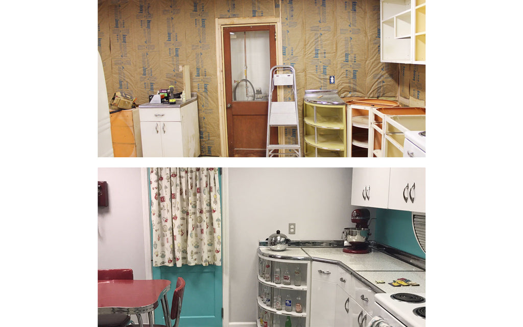 Restoring an original 1950s kitchen. The Inkabilly Blog