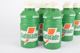 NOS 6 Gatorade water bottles in green/white from the 1990s
