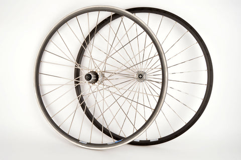 "26"" Wheelset with Conorio RS300 Clincher Rims and Mavic 571 Hubs from the 1990s"
