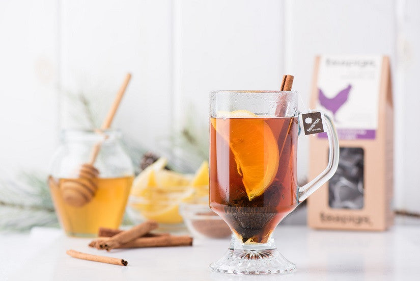 English Breakfast Hot Toddy