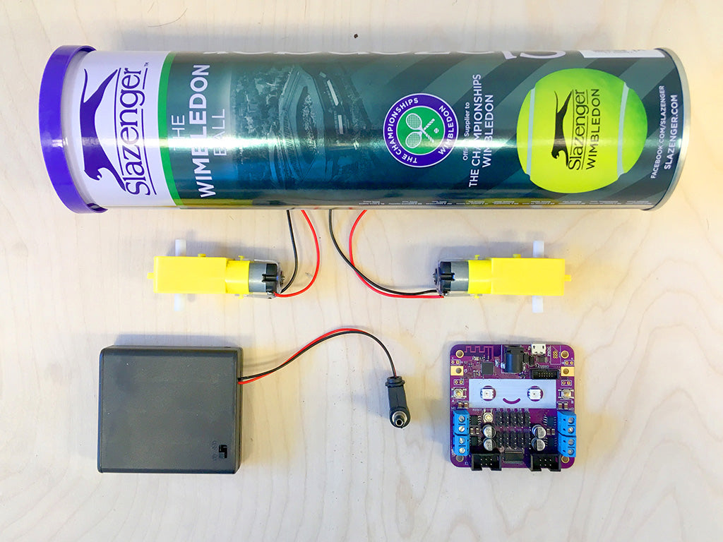 Tennis ball tube and Smartibot parts