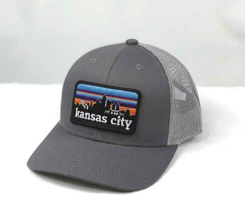 KC SKYLINE trucker hat - GREY