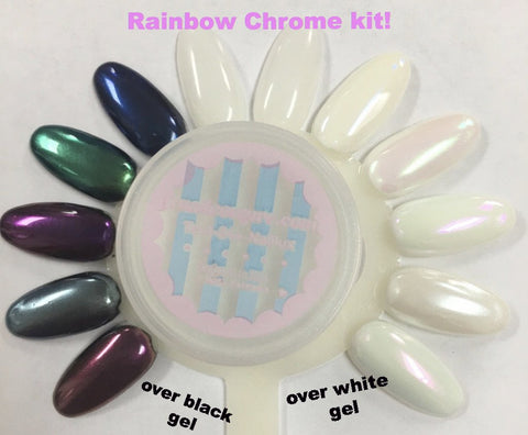 Rainbow Chrome~! magic pigment kit (with free shinee)