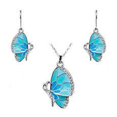 Blue Butterfly Set