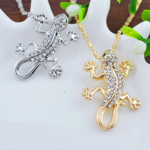 Free Gecko Necklace (2 Color Styles)