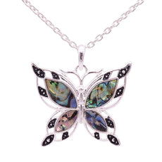 Necklace - Free Green Butterfly Necklace