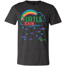 "T-Shirts - ""Turtle Rain"" Unisex Turtle T-shirt (multiple Colors)"
