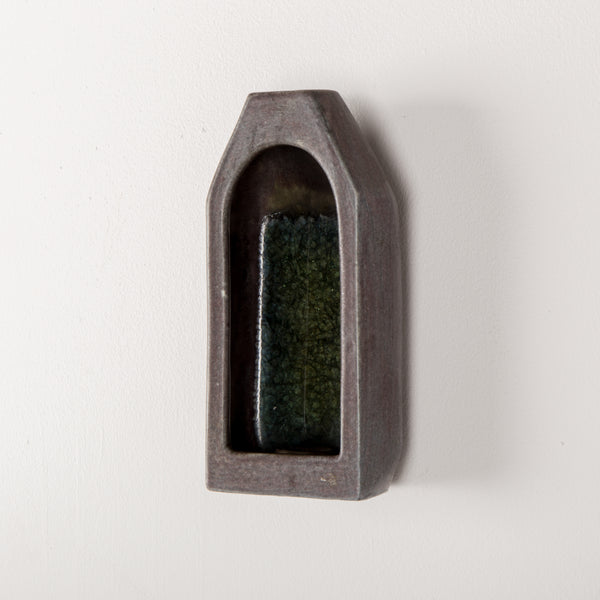 Danish Mid-Century Wall Candle Holder