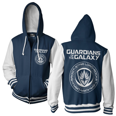 Guardians of The Galaxy Varsity Zip Hoodie