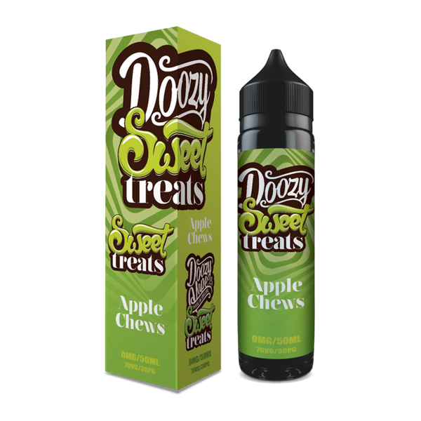 Doozy Vape Co Apple Chews 60ml