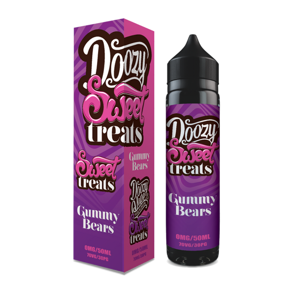 Doozy Vape Co Gummy Bears 60ml