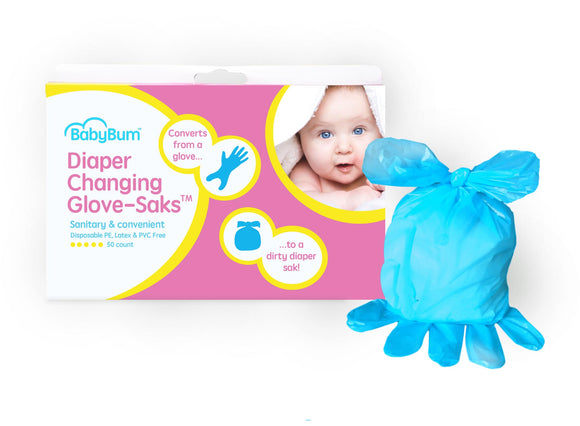 Dirty Diaper Glove-Saks