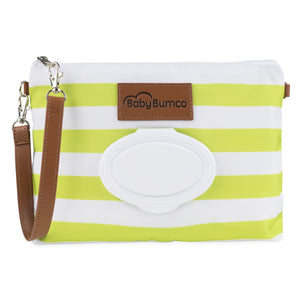Green Diaper Clutch