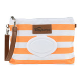Orange Diaper Clutch