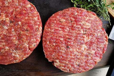 Dry-aged Beef Burgers
