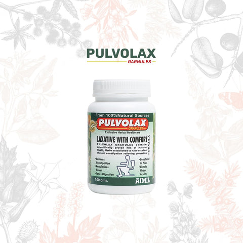 Pulvolax Granules: Ayurvedic Medicine for Constipation