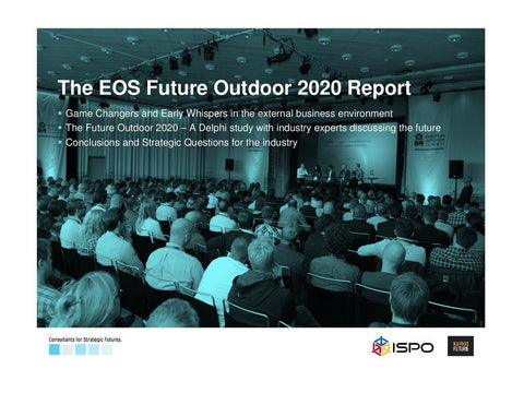 EOS Future Outdoor 2020 Report presented by ISPO