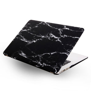 Macbook Case [A1370/A1465] MacBook Air 11' / Black MacBook Case - Marble