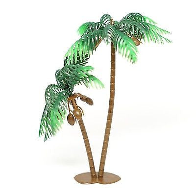 "4 Large Palm Trees with Coconuts Cake Topper 5"" Tall Beach Tropical Party Decor - le petit pain"