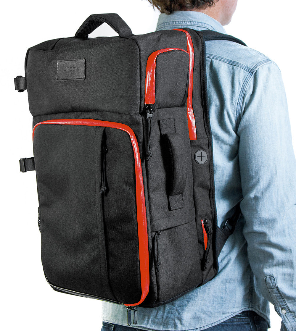 PROGO CARRY ON BACKPACK BLACK/RED