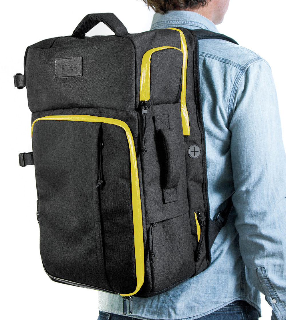 PROGO CARRY ON BACKPACK BLACK/YELLOW