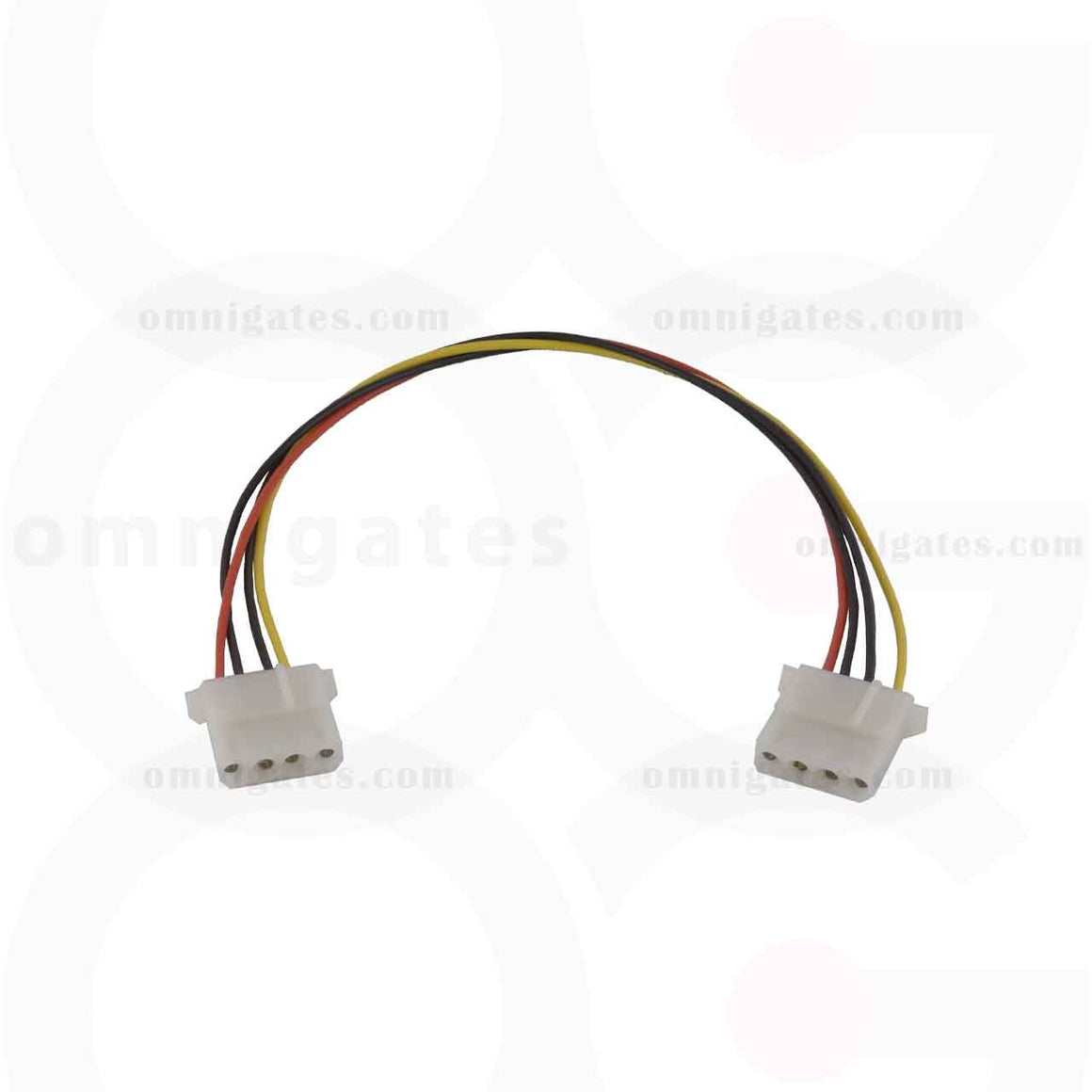 5.25 Female to 5.25 Female, Internal DC Adaptor Cable, 12 inches