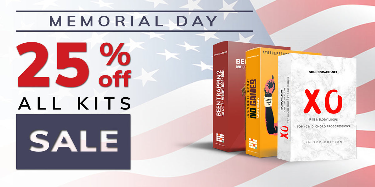 Memorial Day Sale 2018 - 25% Off All Kits And Bundles (May 25-29 @ Midnight)