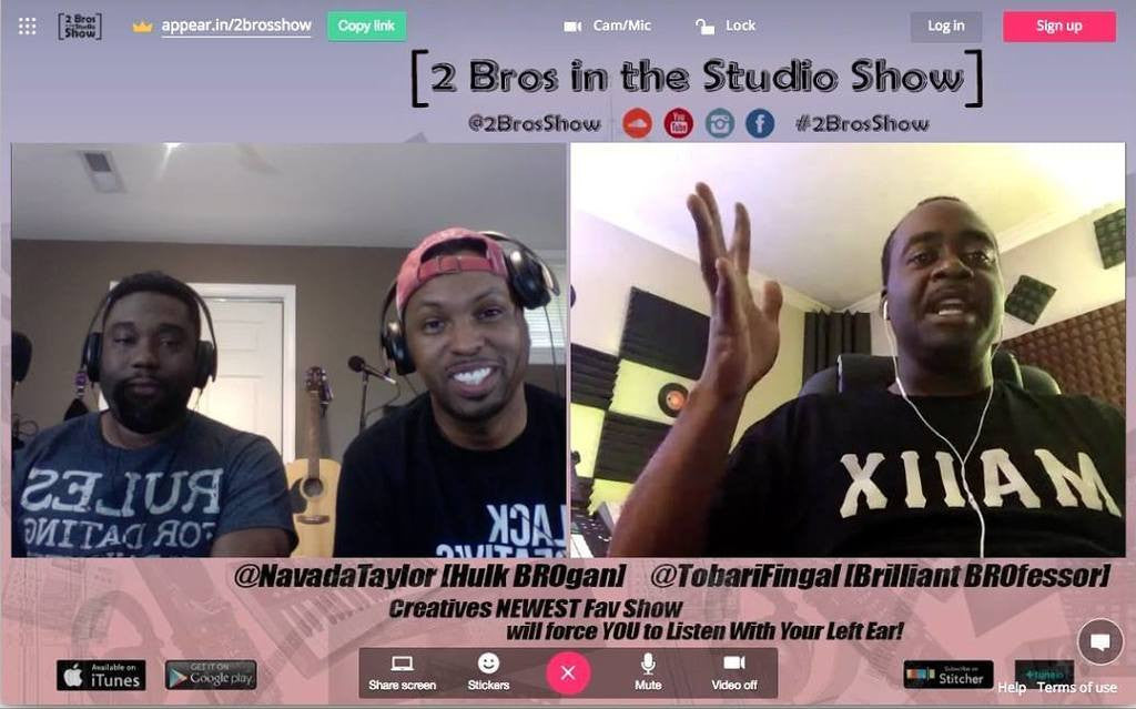 2 Bros In The Studio Show: Episode 38 Podcast On How To Design Your Future
