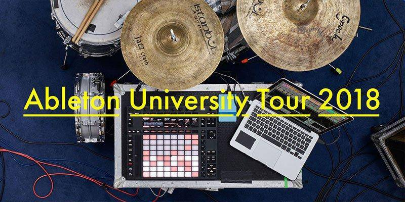 SoundOracle Ableton University Tour 2018 - North Carolina State University