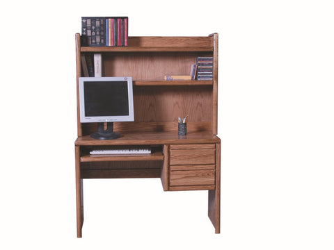Forest Designs Bullnose Hutch for 1011: 44w x 31H x 13D (Desk Sold Separately-$569)