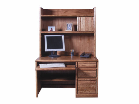 Forest Designs Bullnose Hutch for 1026: 48w x 42H x 13D (Desk Sold Separately-$899)