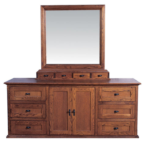 Forest Designs 72w Mission Dresser & Mirror