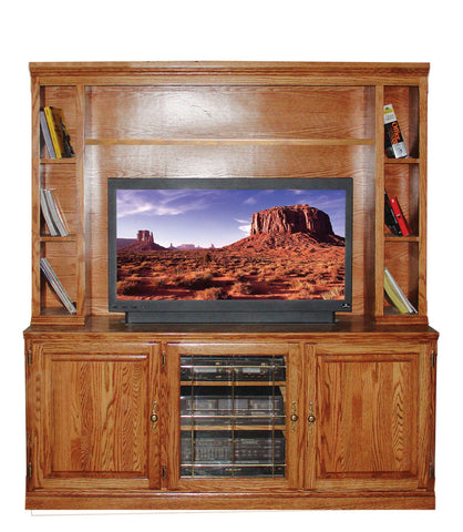 Forest Designs 67w Traditional Oak TV Stand Only: 67W x 30H x 21D (Hutch sold separately-$599)