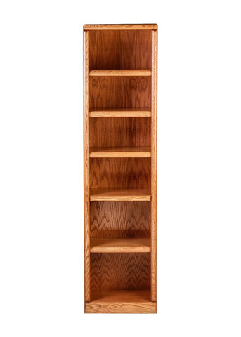 Forest Designs Bullnose Bookcase: 18W X 13D Choose Your Height