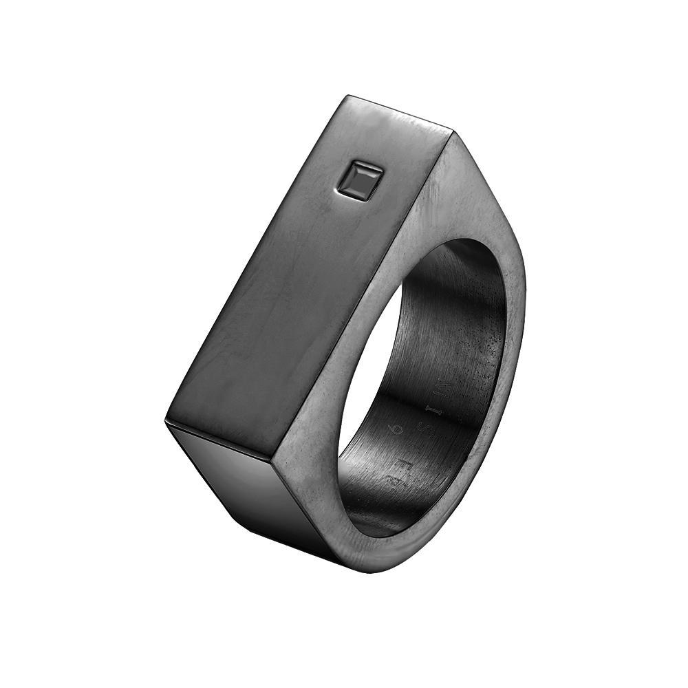 Mister Bars Ring - Onyx Stone - Mister SFC - Fashion Jewelry - Fashion Accessories