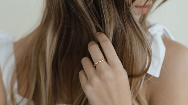 The 3 Diamonds Stacking Ring