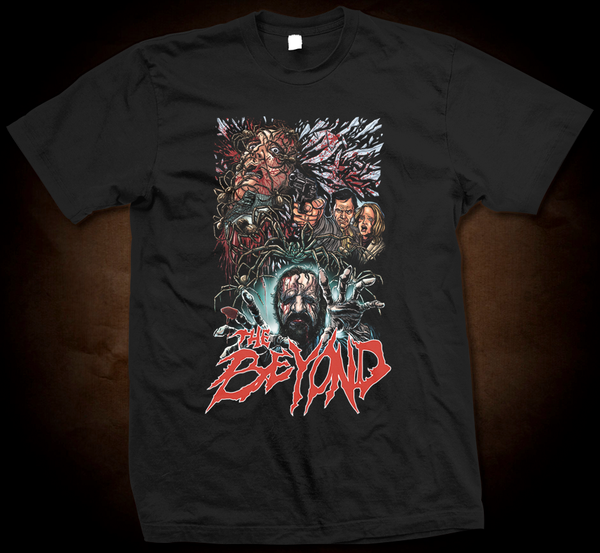 Official Grindhouse Line: The Beyond Design 2 - Gildan Thick 6 oz T-Shirt