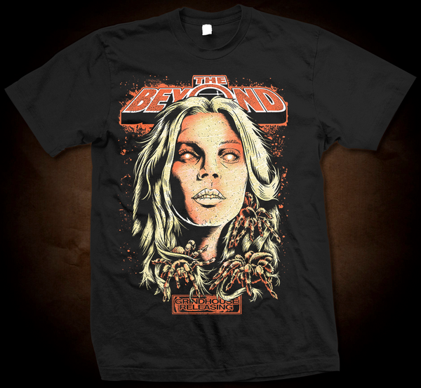 Official Grindhouse Line: The Beyond Official Design A - Gildan Thick 6 oz T-Shirt