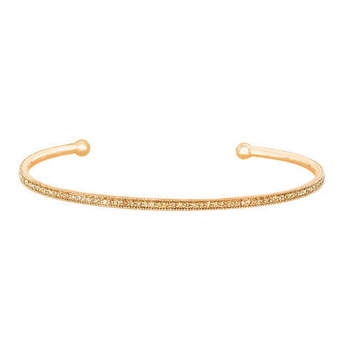 Champagne Diamond Bangle