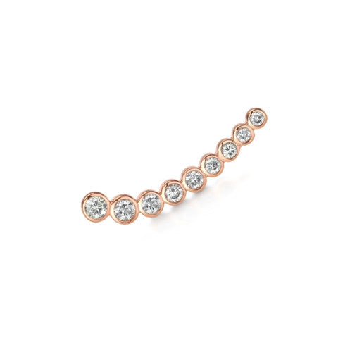 Diamond Cinderella Earring