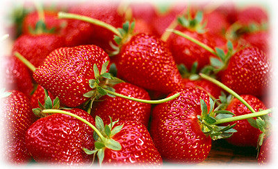 STRAWBERRIES WITH HONEY