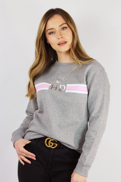 Monogram Sweatshirt - Grey