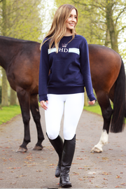 Monogram Sweatshirt - Navy
