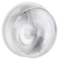 Bulkhead light IP 44 - IK 07 Round - E 27 - glass diffuser