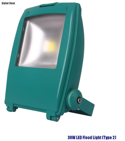 30W LED Flood Light (Type 2) - Digital Stout
