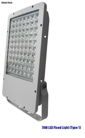 70W LED Flood Light (Type 1) - Digital Stout