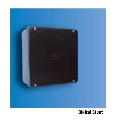 Decoduct 190x140x75mm ADAPTABLE BOX WITH RUBBER GASKET IP56